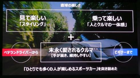 「S660」はスポーツドライビングを手軽に楽しむことにフォーカスしている