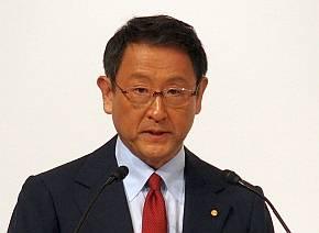 トヨタ自動車の豊田氏