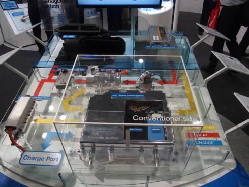カルソニックカンセイが電気自動車向けに開発中の製品群