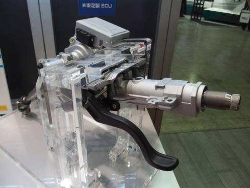 日本精工のISO 26262対応コラムアシスト式電動パワーステアリング