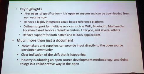AGLの要求仕様書バージョン1.0の概要