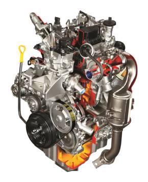 排気量0.8lの2気筒ディーゼルエンジン「E08A型」