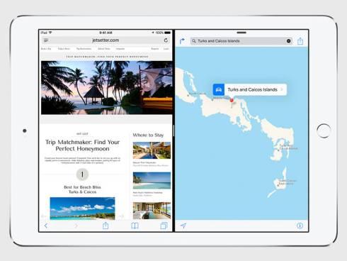 「iOS 9」の「Split View」機能
