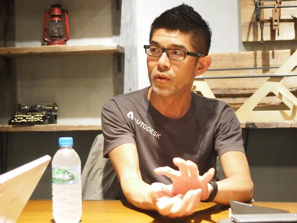 オートデスク 技術営業本部 シニアマネージャーの塩澤豊氏