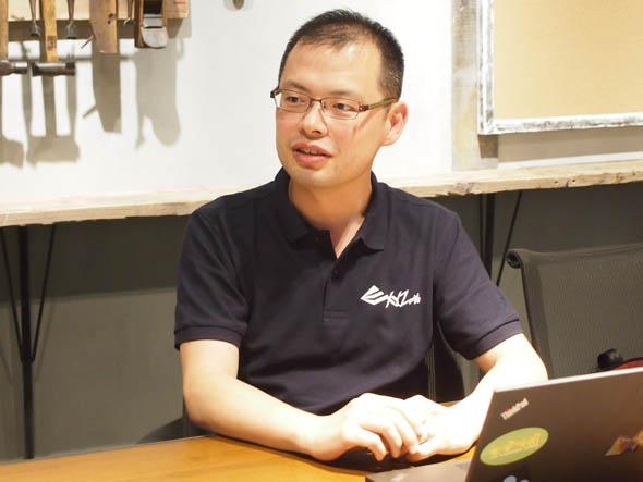 XYZプリンティングジャパン マーケティング部 マネージャーの新井原慶一郎氏
