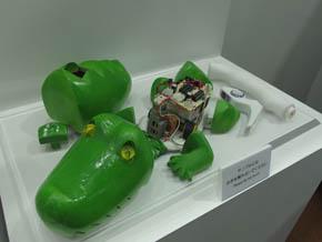 ワニ型ロボット
