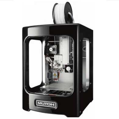 アールエスコンポーネンツが取り扱いを開始するパーソナル3Dプリンタ「MF-500」(ムトーエンジニアリング製)