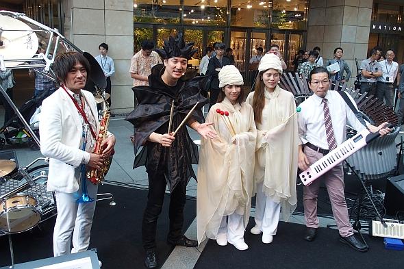川田氏、長屋氏も参加したセッション後の記念撮影