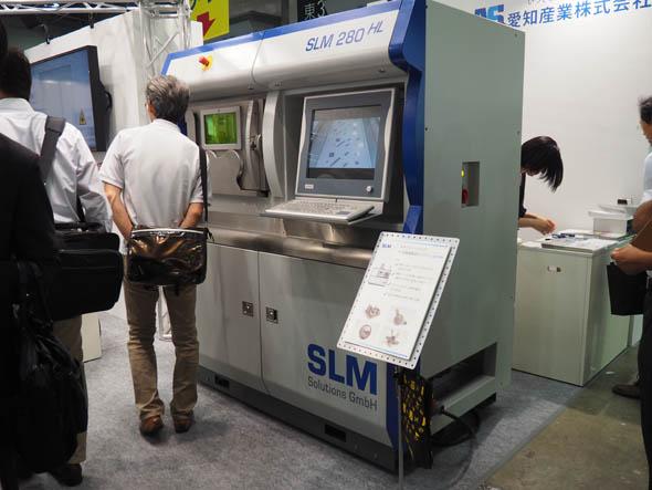 金属3Dプリンタ「SLM 280」