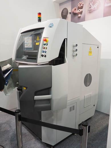スリーディー・システムズ・ジャパンが展示した「ProX 200」