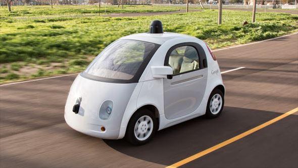 完全自動運転車のイメージ(出典:Google)