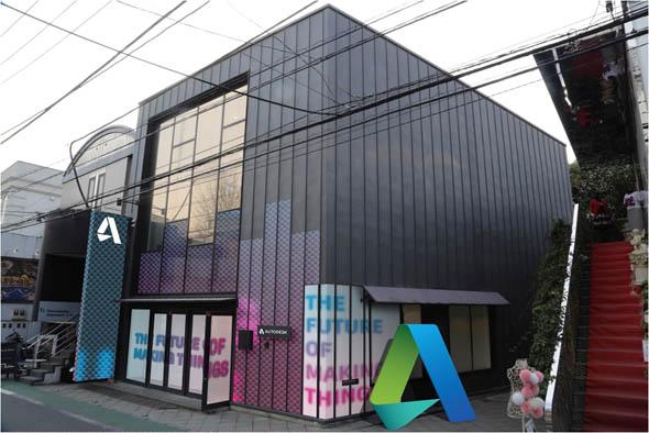 「Pop-Up Gallery Tokyo」が行われるBA-TSU ART GALLERYの外観イメージ