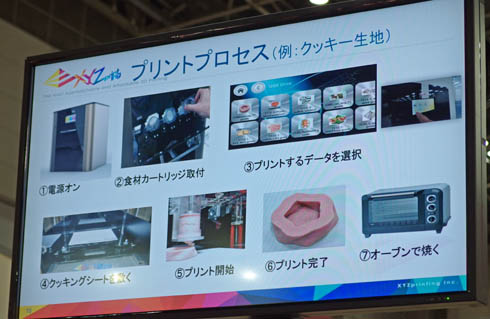 XYZ Food Printer