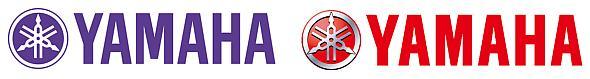 ヤマハ(左)とヤマハ発動機(右)の企業ロゴ