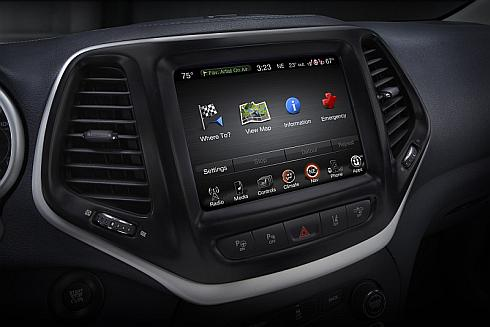 FCA USの車載情報機器「Uconnect」