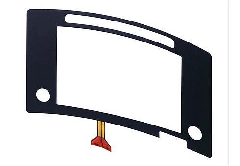 「静電容量方式 曲面タッチパネル」のイメージ