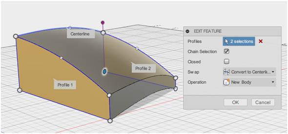 MODEL環境におけるLoft機能(編集画面)