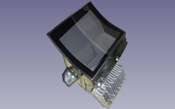 日本精機が生産しているヘッドアップディスプレイユニットの一例