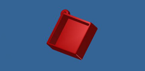 TWE-Lite-2525A用ケース(下部)
