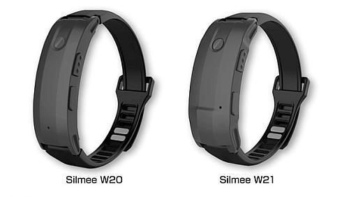 「Silmee W20」(左)と「Silmee W21」(右)の外観