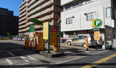 最初にサービス開始を予定している「三井のリパーク」の南八幡5丁目第3駐車場(千葉県市川市)