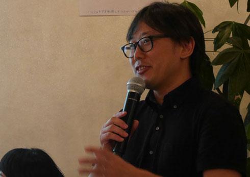 ユカイ工学代表の青木俊介さん