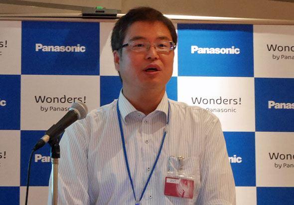 パナソニック ストレージバッテリーの商品技術部 部長の吉原 靖之氏