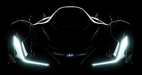 「Hyundai N 2025 Vision Gran Turismo」のフロントフェイスイメージ