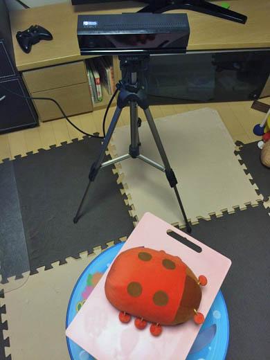 Kinect for Windowsの視界をわざとふさぐ