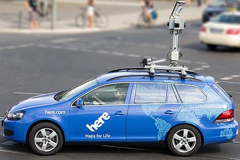 HEREの高度化地図作成のためのデータ収集車