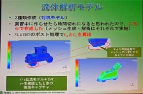 こちらは流体解析モデル