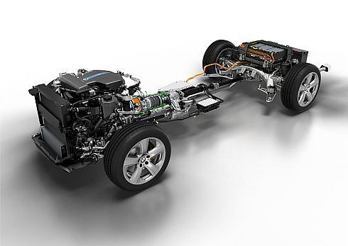 「X5 xDrive40e」のプラグインハイブリッドシステム