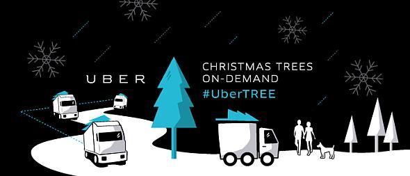 「UberTREE」のサービスイメージ