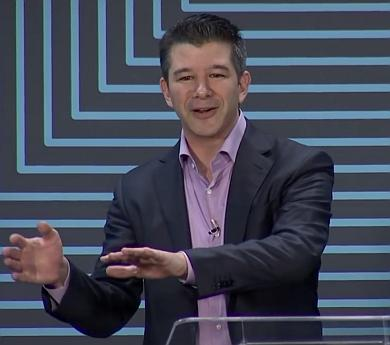 積極的に新たなサービス展開を広げるUber CEOのTravis Kalanick(トラビス・カラニック氏)