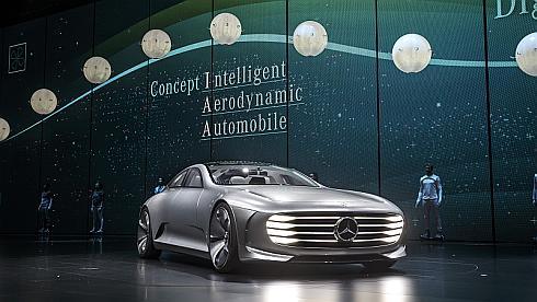 メルセデス・ベンツのコンセプトカー「コンセプトIAA」