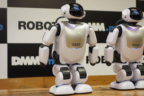 富士ソフトのコミュニケーションロボット「Palmi」