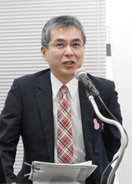 京セラ 通信機器戦略商品統括部長の能原隆氏