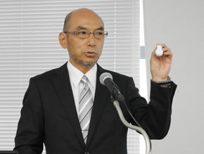 京セラ 通信機器戦略商品統括部 新事業推進部の内藤昌宏氏氏