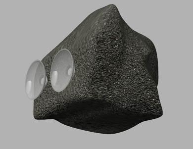 お風呂用岩