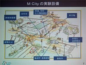 「M City」の実験設備
