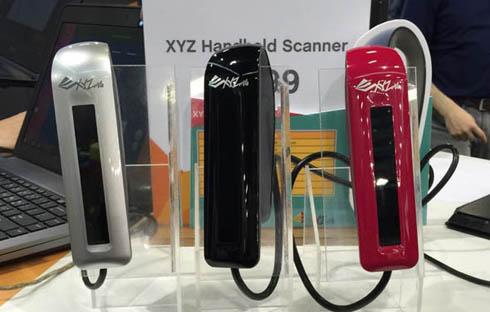 ハンディ型3Dスキャナ「XYZ ハンドヘルド 3Dスキャナー」