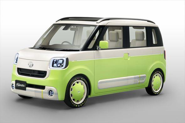 デザイン性とスペース機能の融合による新しいラウンドデザインの軽自動車