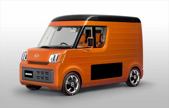 新ジャンルスペース系商用車の「TEMPO(テンポ)」