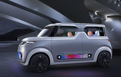 日産自動車の軽EVコンセプトカー「テアトロ for デイズ」