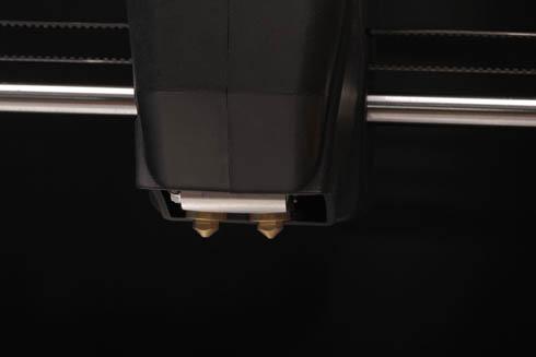 ノズル径の異なる2つのヘッドを搭載