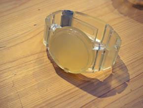 光造形方式の3Dプリンタで作成されたモック(2)