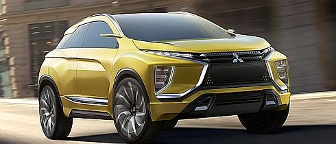 小型SUVタイプの電気自動車「MITSUBISHI eX Concept」