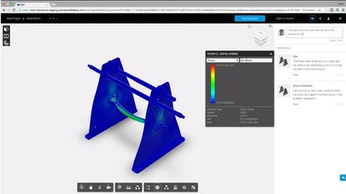 設計プロジェクト向けコラボレーションサービス「Autodesk A360」