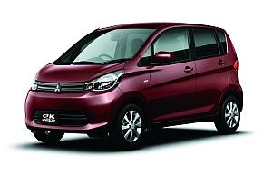 三菱自動車の「eKワゴン」