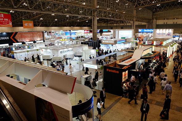 CEATEC JAPAN 2015の会場